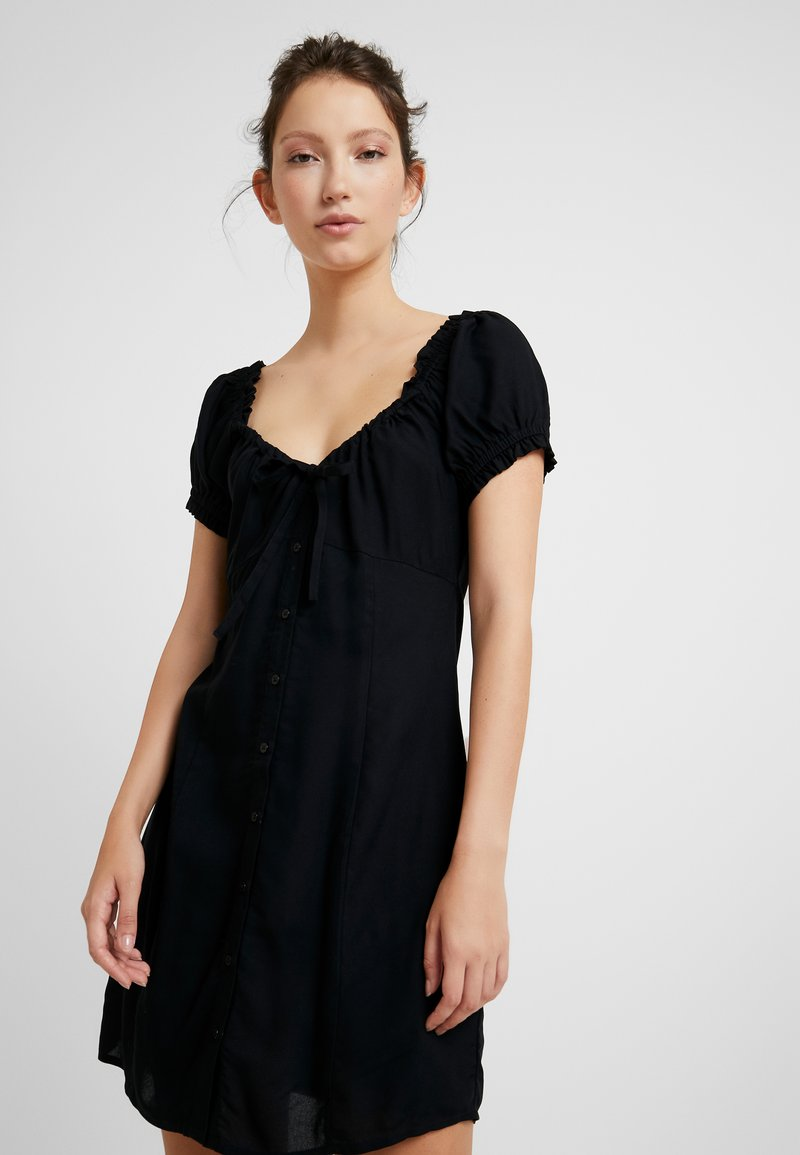 EDITED - BRYCE DRESS - Shirt dress - black