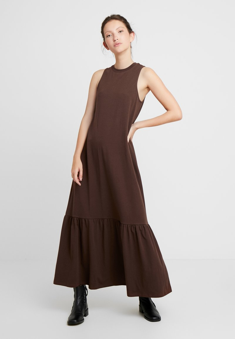 EDITED - FELISA DRESS - Robe longue - chestnut