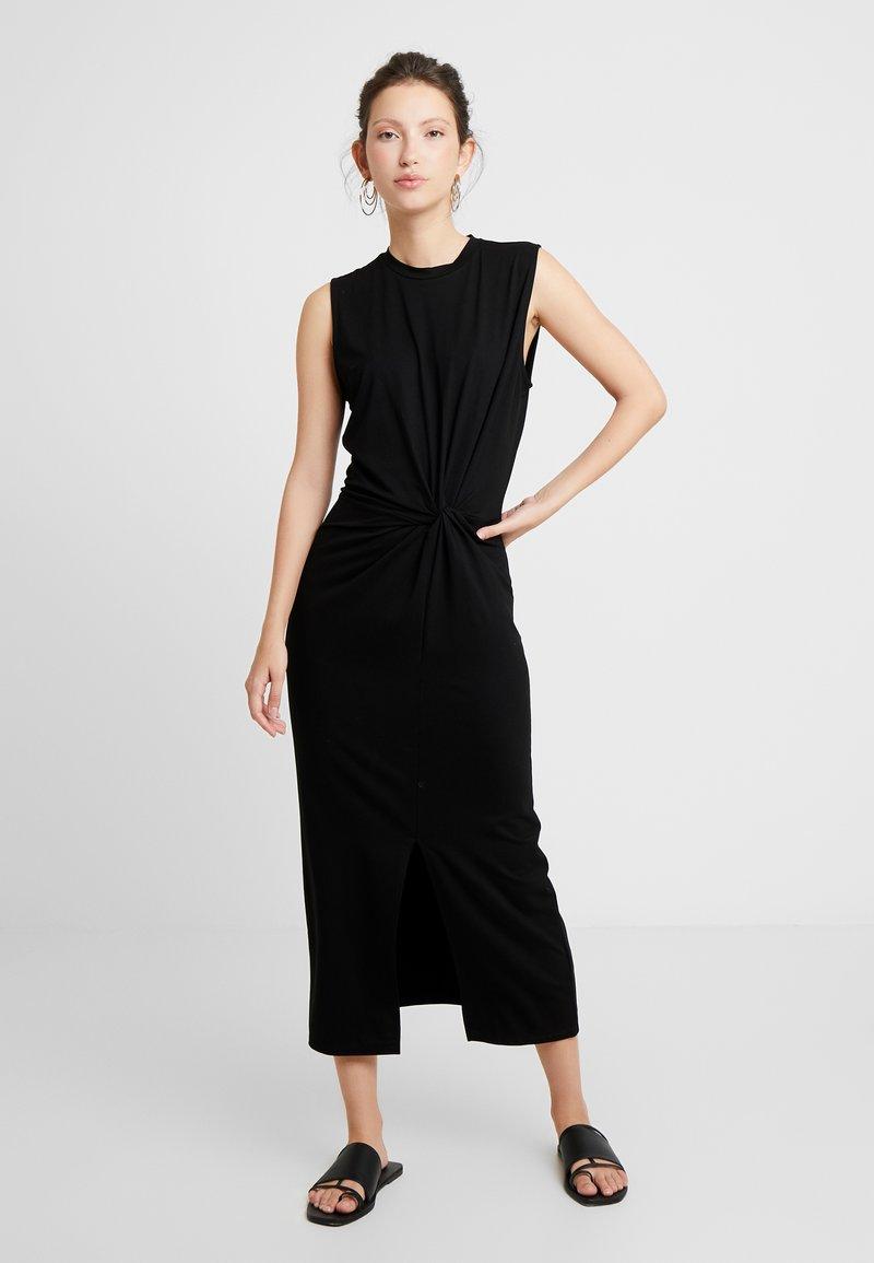 EDITED - NADINE DRESS - Jersey dress - black