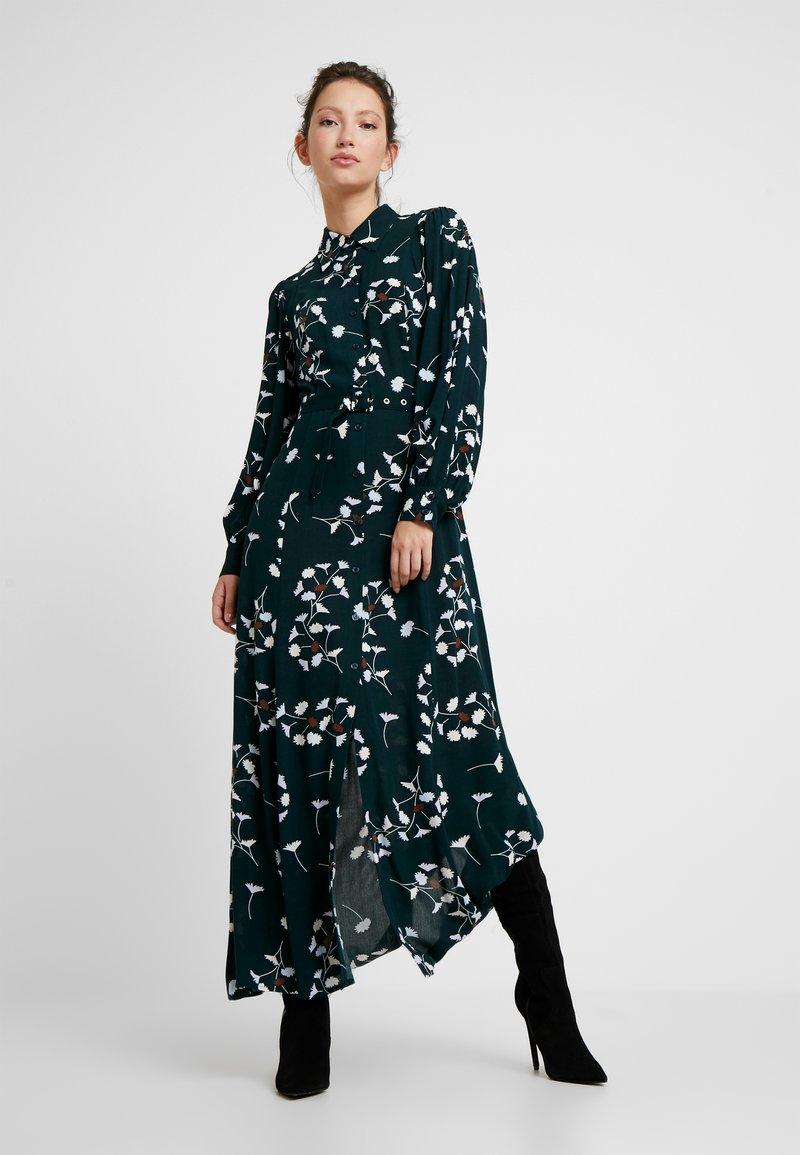 EDITED - JOLANDA DRESS - Maxikleid - dark green