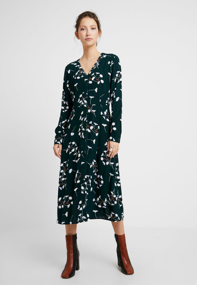EDITED - SALLIE DRESS - Skjortekjole - green/multicoloured