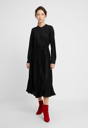 RAVENA DRESS - Jerseykjole - black