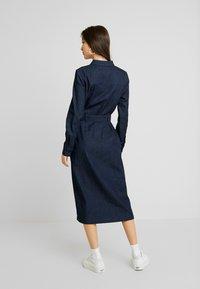 EDITED - DIEGO DRESS - Denim dress - blau - 3