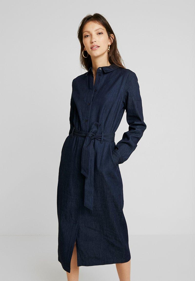EDITED - DIEGO DRESS - Denim dress - blau