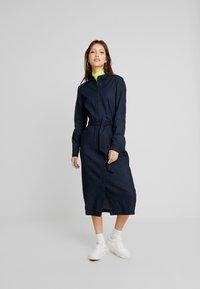 EDITED - DIEGO DRESS - Denim dress - blau - 2