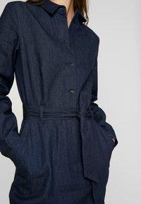 EDITED - DIEGO DRESS - Denim dress - blau - 6
