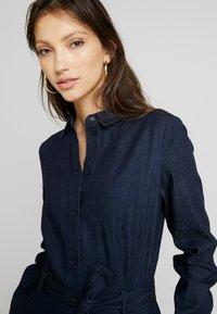 EDITED - DIEGO DRESS - Denim dress - blau - 4