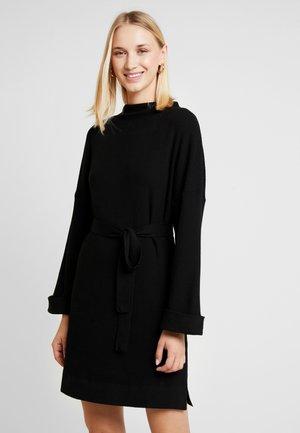 NATA DRESS - Gebreide jurk - schwarz