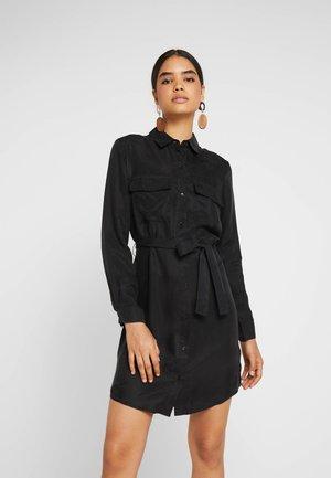FARHA DRESS - Košilové šaty - black