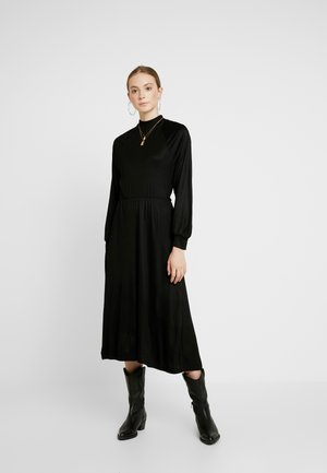 TIARE DRESS - Jerseykjole - schwarz