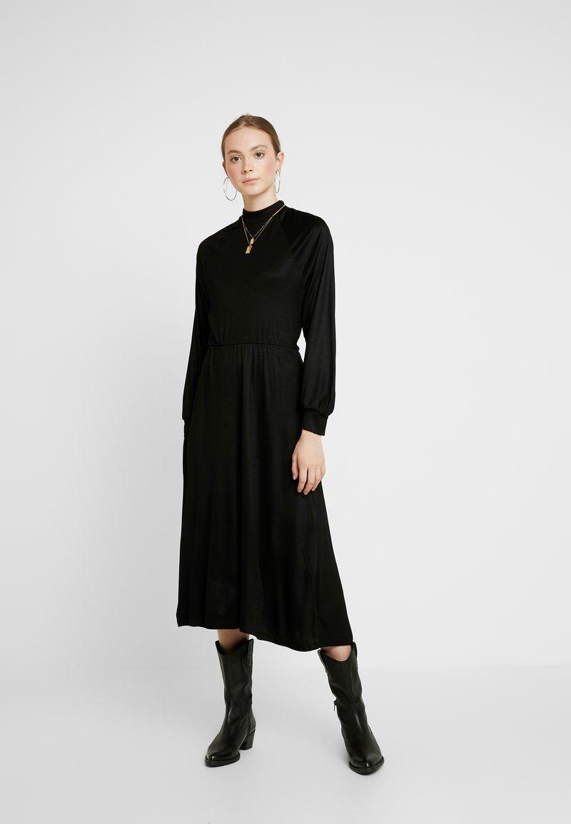 EDITED - TIARE DRESS - Vestito di maglina - schwarz