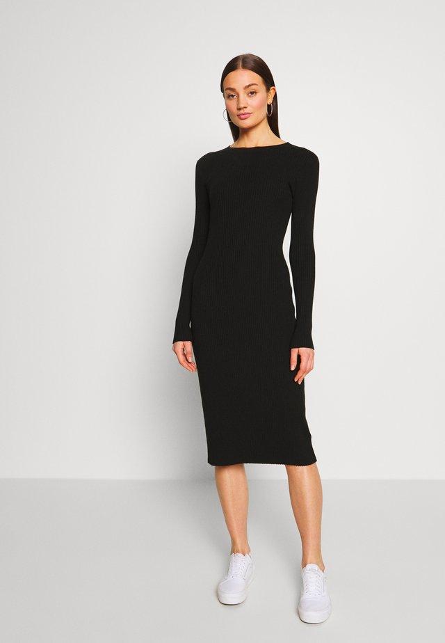 HENNIE DRESS - Etui-jurk - schwarz