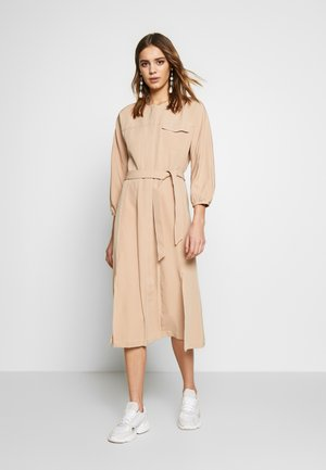 NICHOLA DRESS - Shirt dress - beige