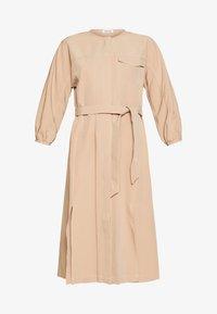 EDITED - NICHOLA DRESS - Blousejurk - beige - 4