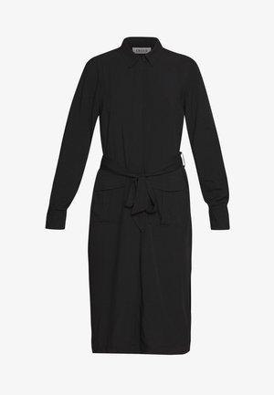RILANA DRESS - Skjortekjole - schwarz