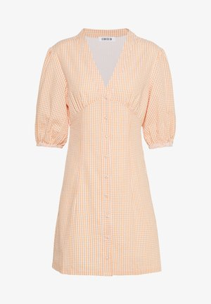 MADLENA DRESS - Korte jurk - apricot