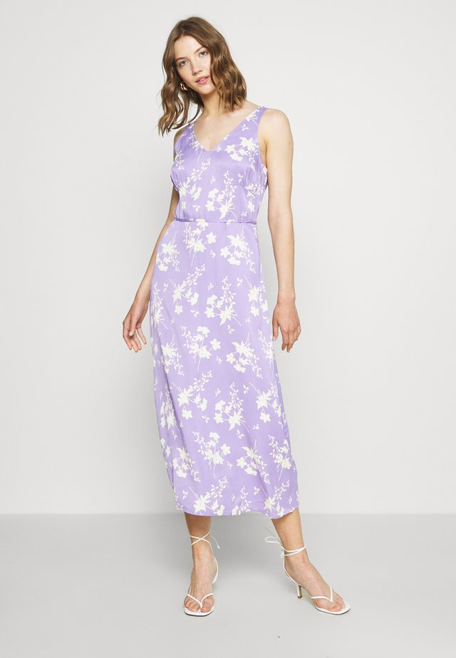 NAVAL DRESS - Day dress - lila/gelb