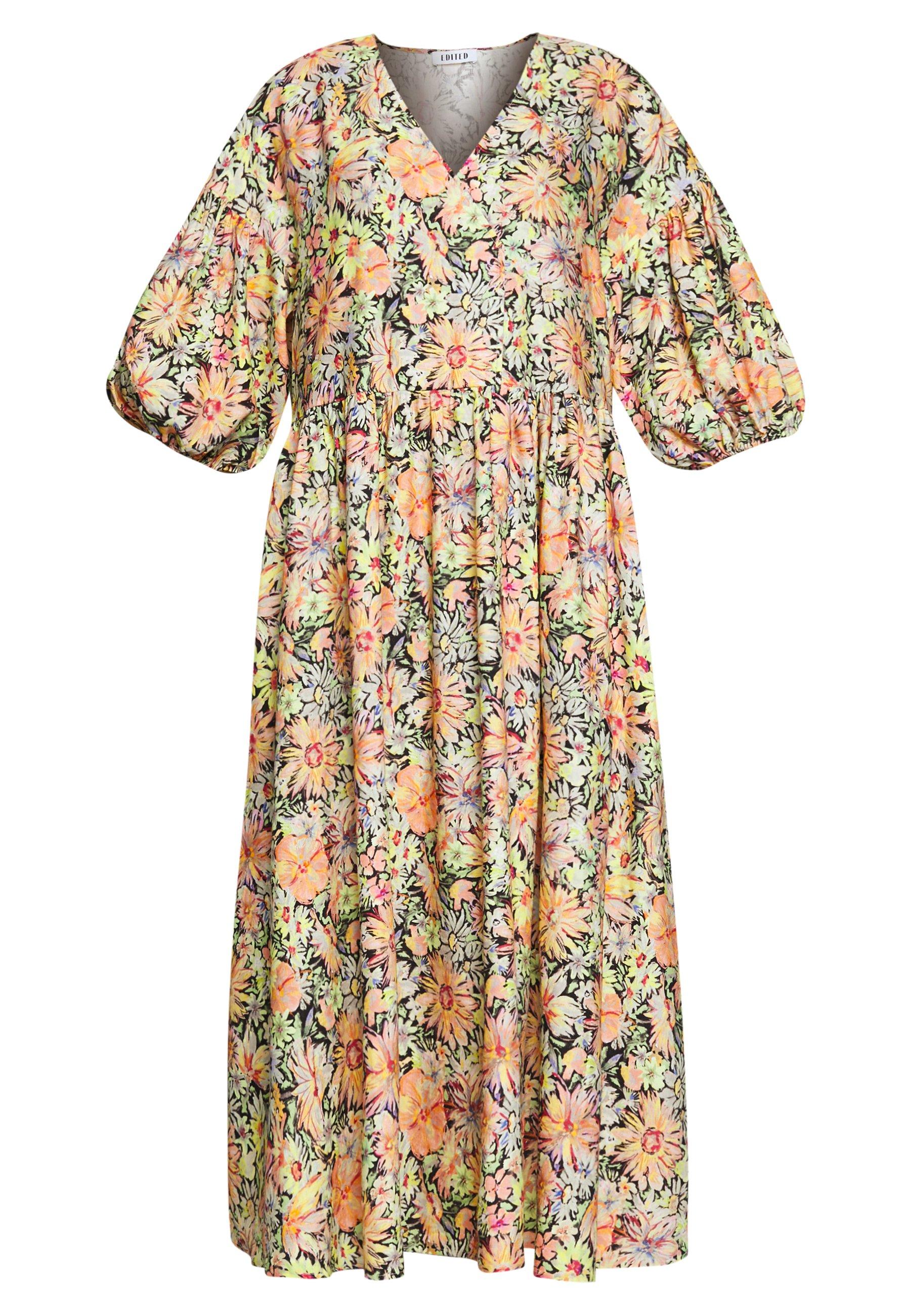EDITED LAMYA DRESS - Vestito lungo - exotic floral