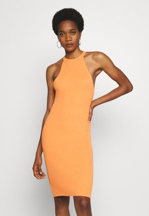 INDIA DRESS - Vestido de tubo - orange