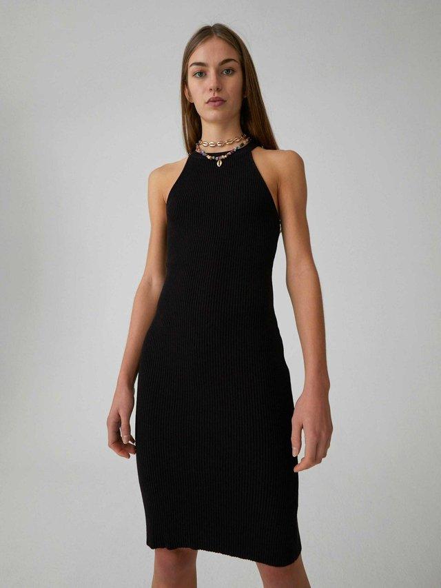 INDIA - Shift dress - black