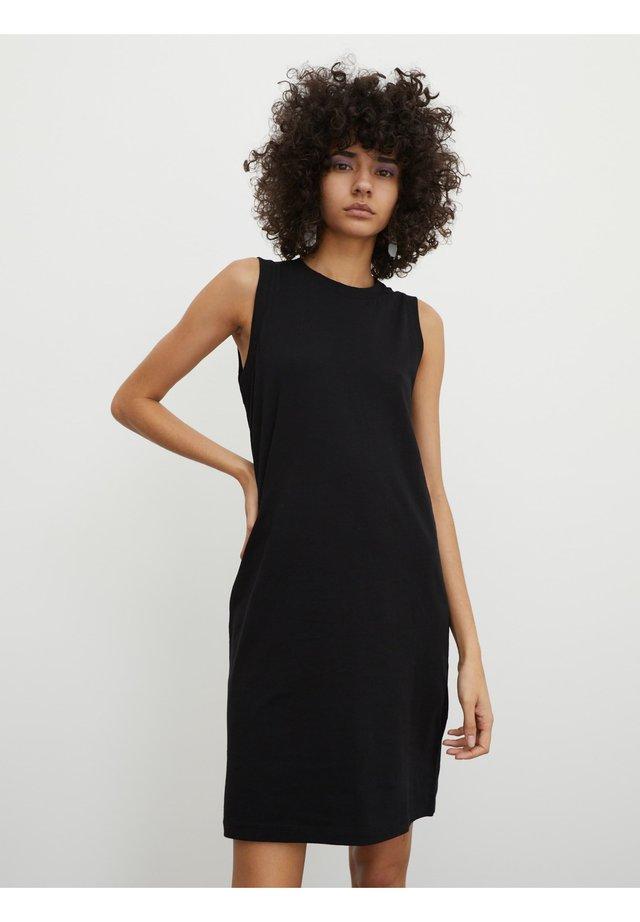 MAREE - Jerseykleid - schwarz