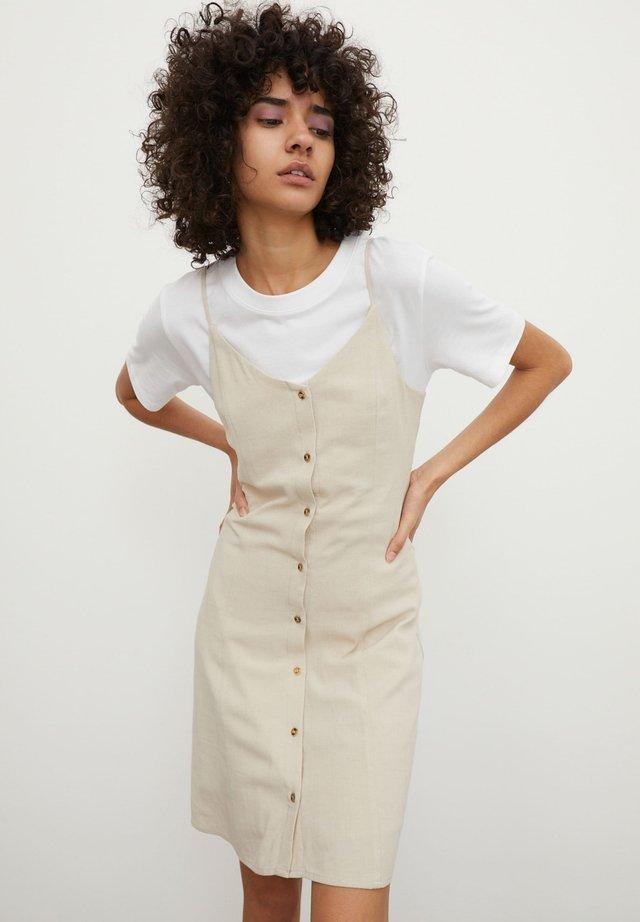 KILI - Korte jurk - beige