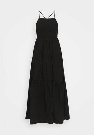 DAPHNE DRESS - Vestito lungo - schwarz