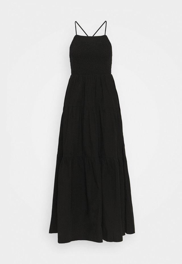DAPHNE DRESS - Długa sukienka - schwarz