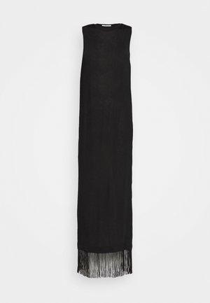 EDWIN DRESS - Vestito di maglina - schwarz