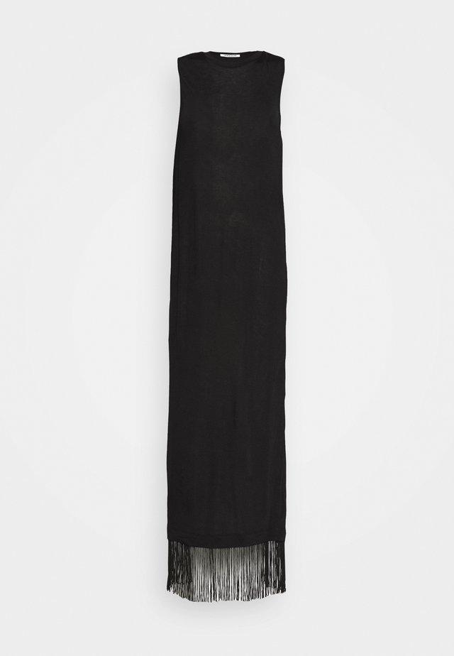 EDWIN DRESS - Jerseyjurk - schwarz