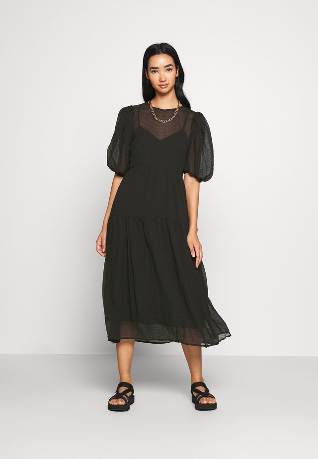 ELLEN DRESS - Day dress - schwarz
