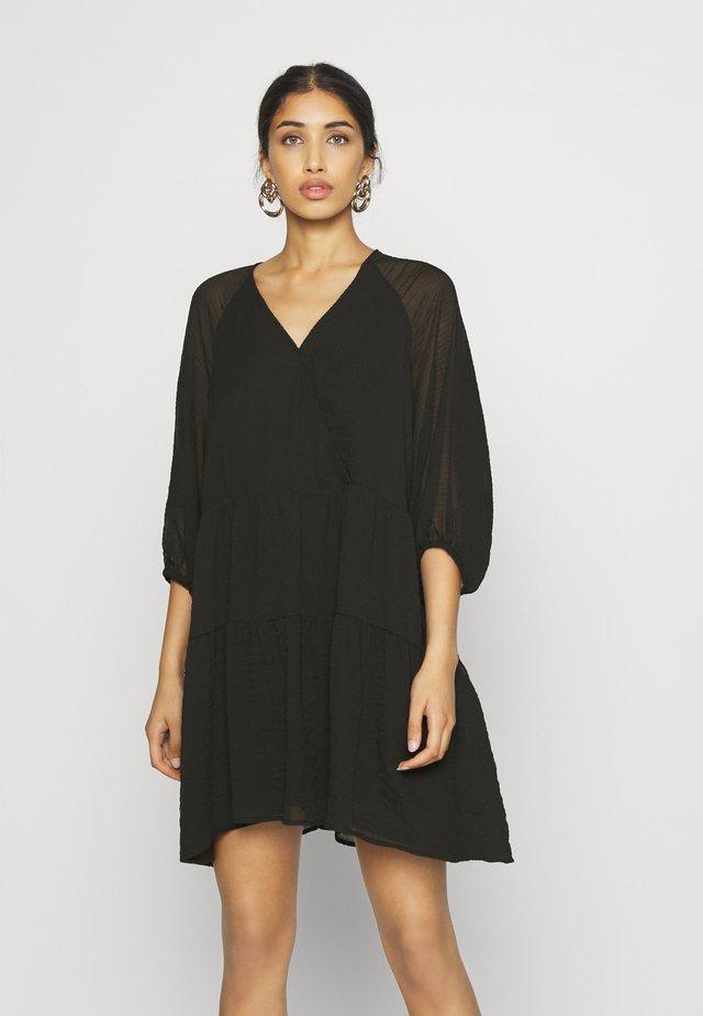 MAROU DRESS - Robe d'été - schwarz