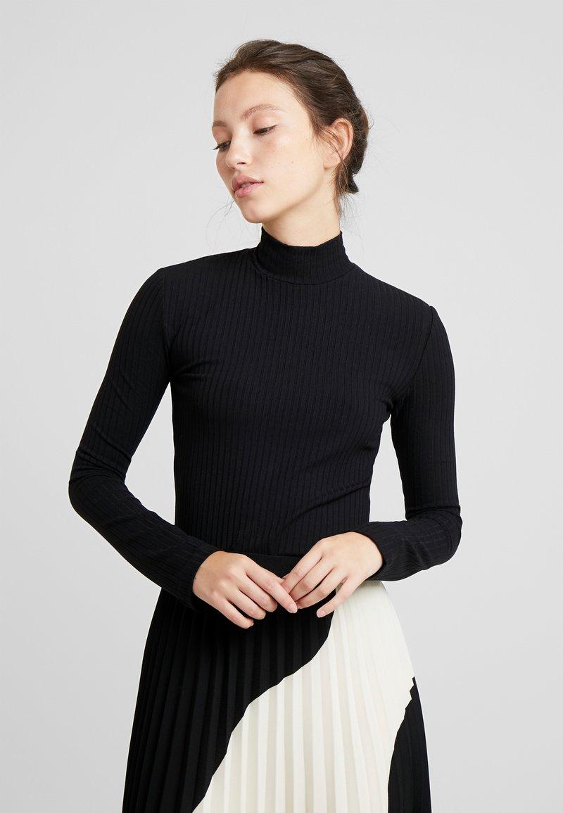 EDITED - MANON LONGSLEEVE - Maglietta a manica lunga - black