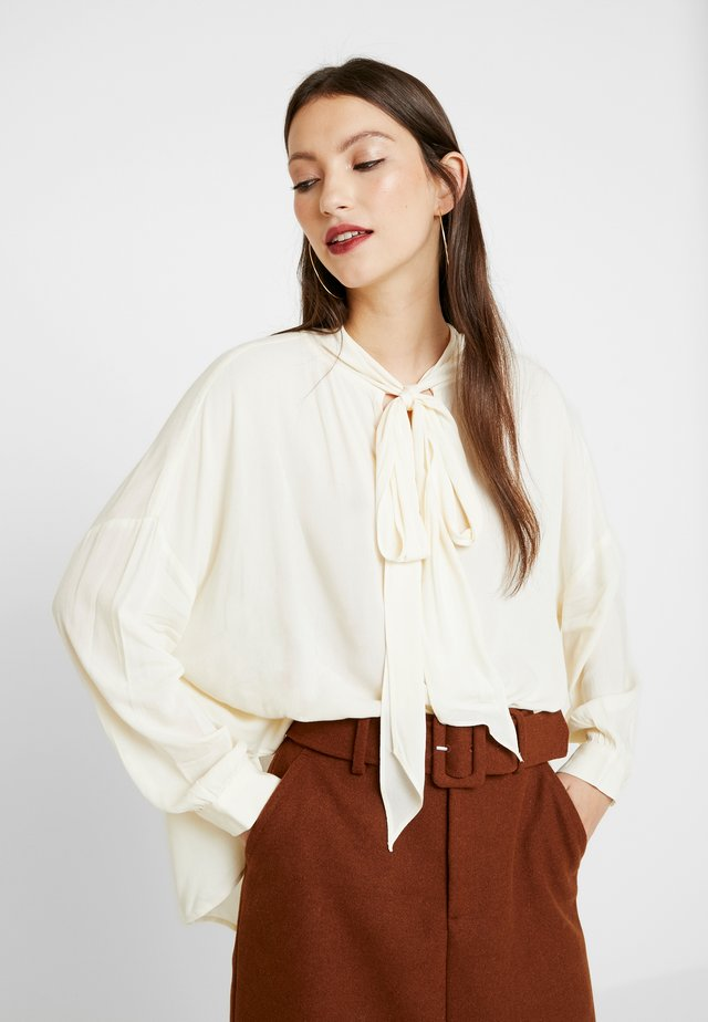 LESLY BLOUSE - Blouse - offwhite