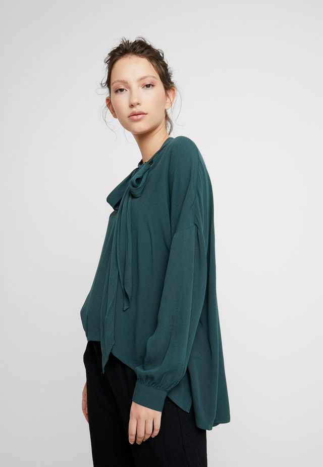 LESLY BLOUSE - Pusero - dark green