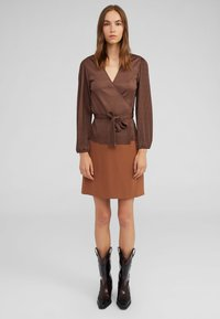 EDITED - NEYLA - Blouse - brown - 1