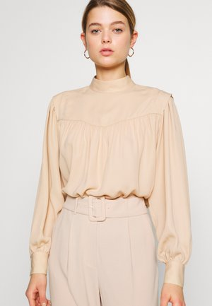 GINNY BLOUSE - Blouse - beige