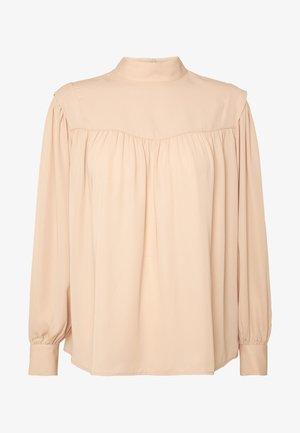 GINNY BLOUSE - Bluse - beige