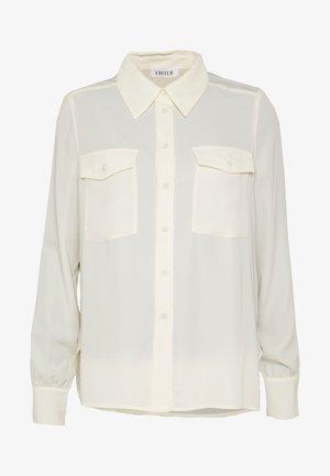 NAHLA BLOUSE - Overhemdblouse - weiß