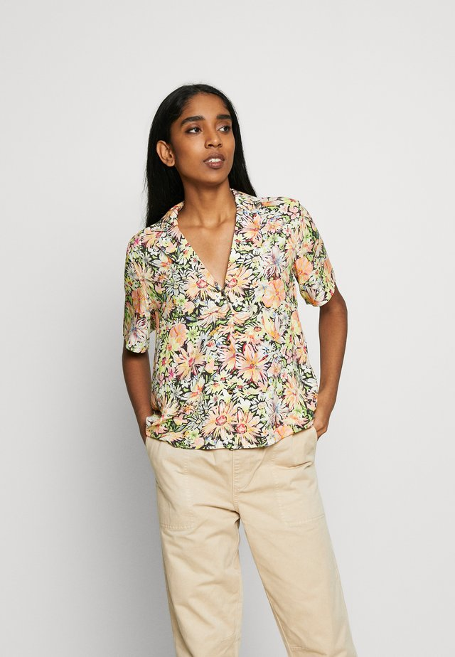 MELIKA BLOUSE - Button-down blouse - exotic floral