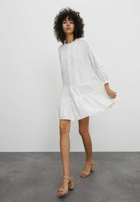 EDITED - Shirt dress - weiß - 3