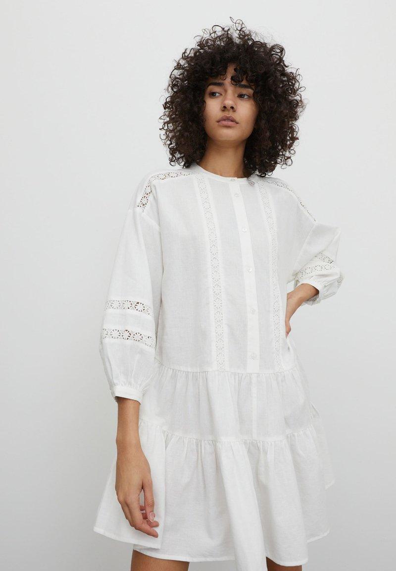 EDITED - Shirt dress - weiß