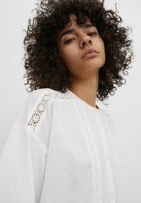 EDITED - Shirt dress - weiß - 4