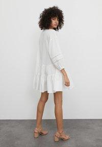 EDITED - Shirt dress - weiß - 2