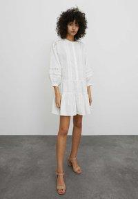 EDITED - Shirt dress - weiß - 1
