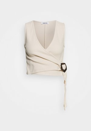NAHID - Blouse - beige/offwhite/creme
