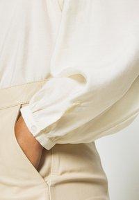 EDITED - JAMIRA BLOUSE - Button-down blouse - weiß - 6
