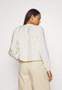 EDITED - JAMIRA BLOUSE - Button-down blouse - weiß - 2