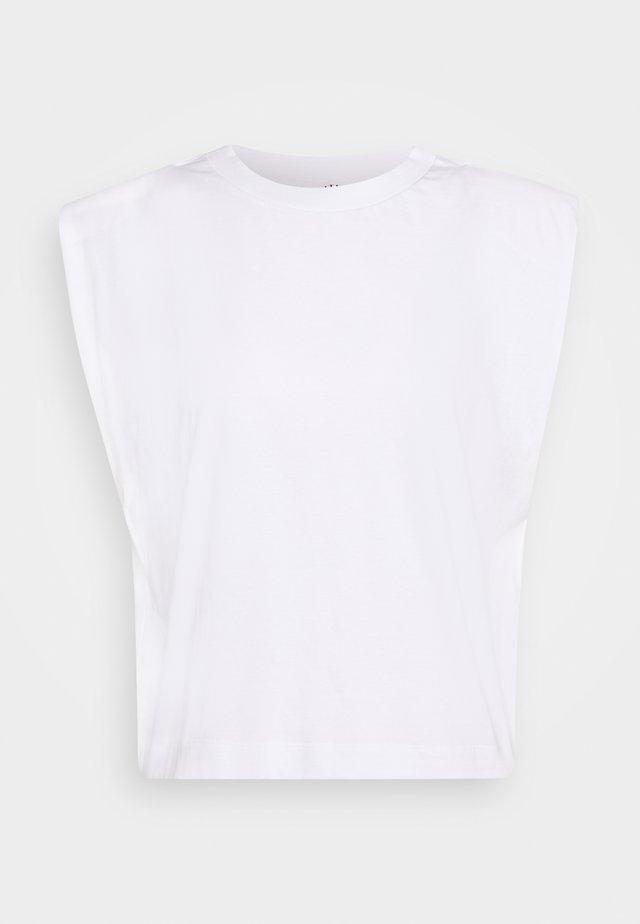 ELISE - Basic T-shirt - weiß