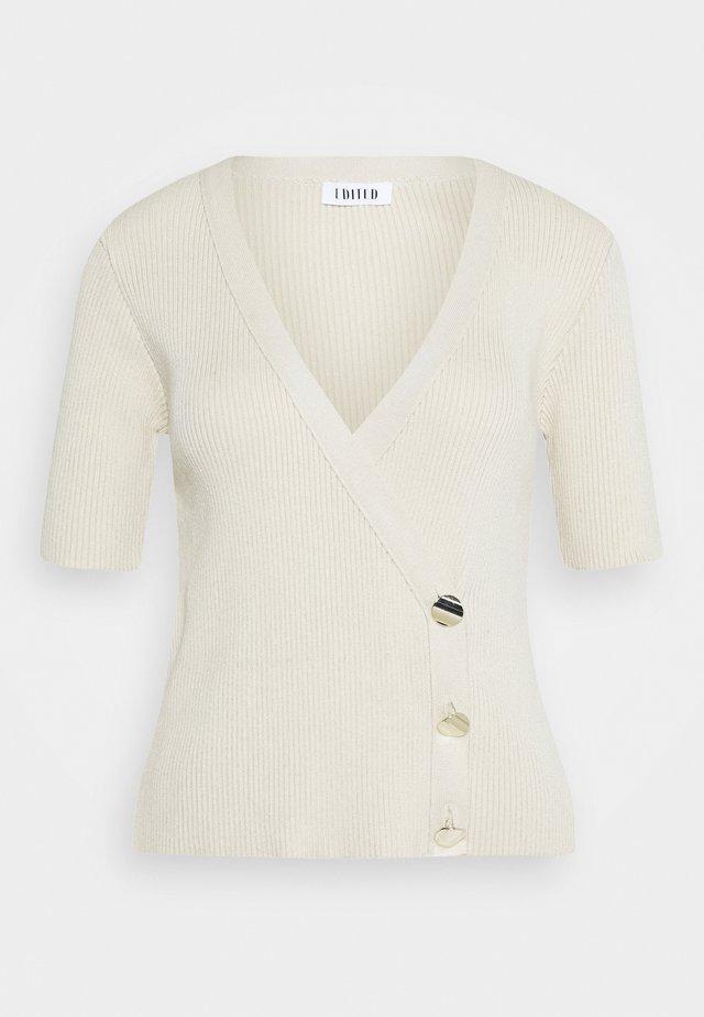 GIULIA TOP - Bluzka - beige